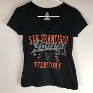 Majestic San Francisco Giants Territory Spell Out